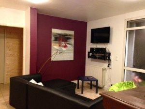 Le coin salon Tv